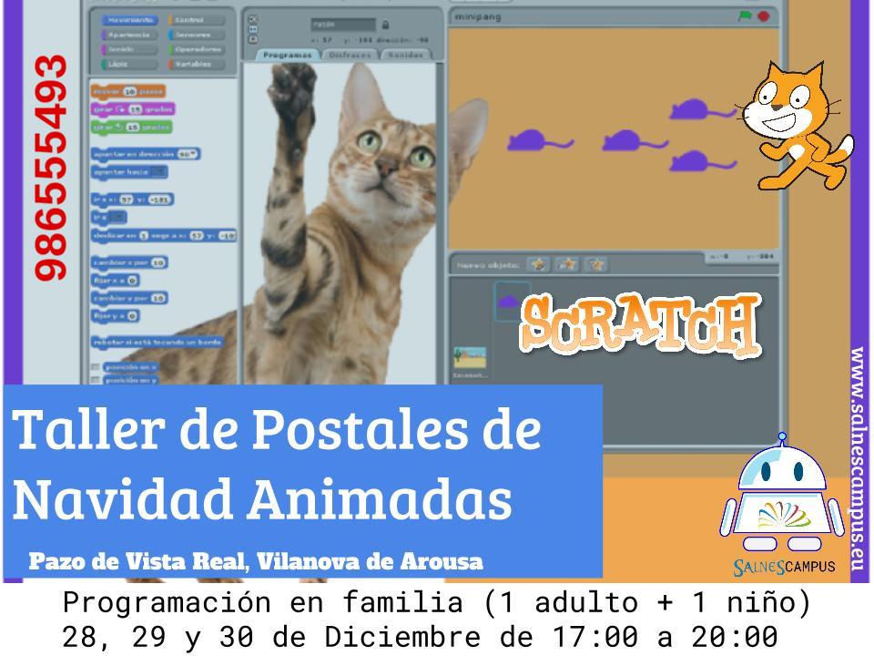 Aprende a programar en familia con Scratch aprovechando las vacaciones de Navidad